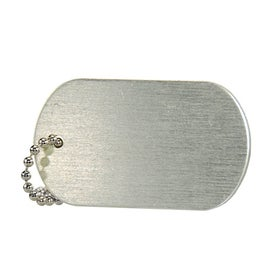 Domed Dog Tag