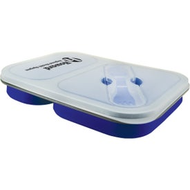 Promotional Double Collapsilunch Container