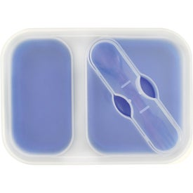 Personalized Double Collapsilunch Container