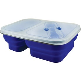 Branded Double Collapsilunch Container