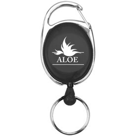Double Ring Keychain with Your Logo