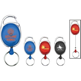 Company Double Ring Keychain