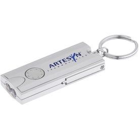Double LED Rectangular Key-Light with Your Slogan