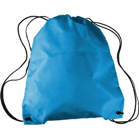 Promotional Drawstring Backpack in a Bottle Combo