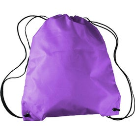 Drawstring Backpack in a Bottle Combo for Advertising