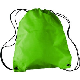Custom Drawstring Backpack in a Bottle Combo
