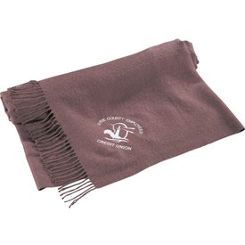 Branded Dream Fringe Home Throw