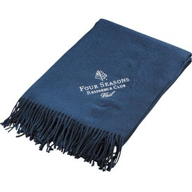 Printed Dream Fringe Home Throw