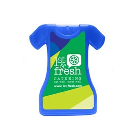 Dress Shaped Credit Card Style Hand Sanitizer for Promotion