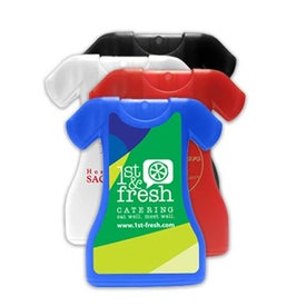 Dress Shaped Credit Card Style Hand Sanitizer