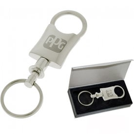Dressy Valet Keychain for Marketing