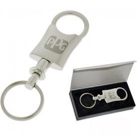 Dressy Valet Keychain for Marketing