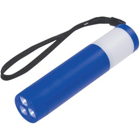 Dual Function Camping Light With Strap with Your Logo