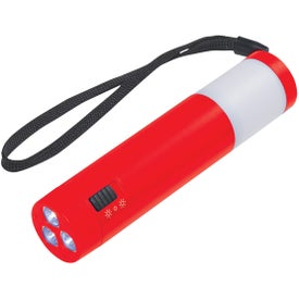 Customized Dual Function Camping Light With Strap