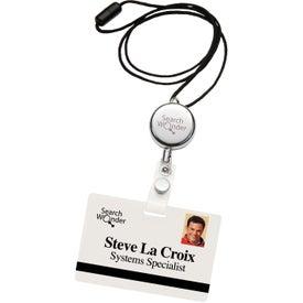 Printed Dual Function Metal Badge Holder