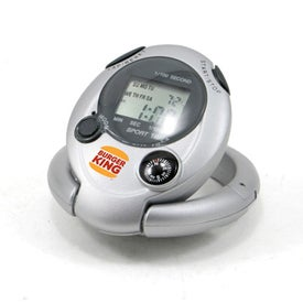 Dual Function Digital Timer Branded with Your Logo