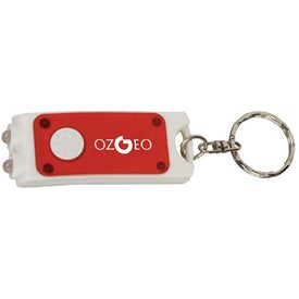 Imprinted Dual LED Key Tag Light