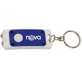 Dual LED Key Tag Light Printed with Your Logo
