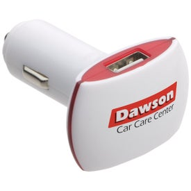 Branded Dual Port USB Car Charger