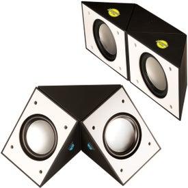 Dual-Rotating Bluetooth Speaker