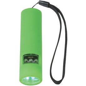 Personalized Dual Setting Flashlight With Strap