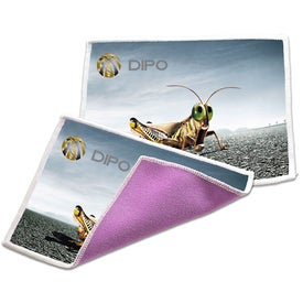 Advertising Dual Sided Microfiber Terry Cloth