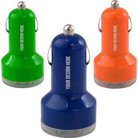 UL Dual USB Car Charger Giveaways