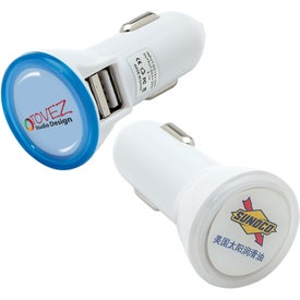 Dual USB Light Up Car Chargers
