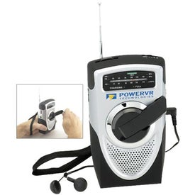 Dual-Powered AM/FM Weather Band Radio Giveaways