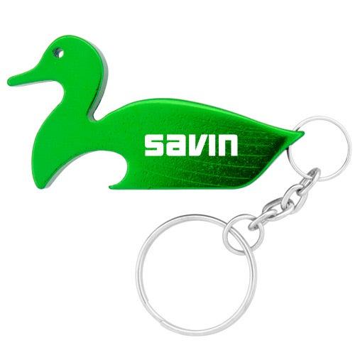 duck key chain bottle opener trade show giveaways ea. Black Bedroom Furniture Sets. Home Design Ideas