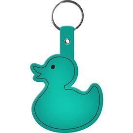 Monogrammed Duckie Key Tag
