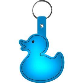 Personalized Duckie Key Tag