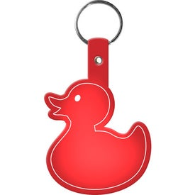 Duckie Key Tag with Your Slogan