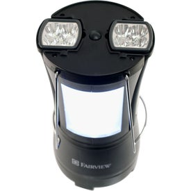 Imprinted Duo LED Lantern
