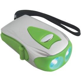 Dynamo Crank Flashlight for your School