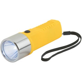 Promotional Dynamo Crank Torch With Strap