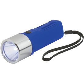 Dynamo Crank Torch With Strap Imprinted with Your Logo