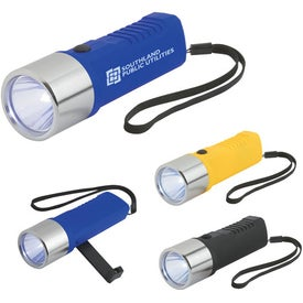 Dynamo Crank Torch With Strap for Your Organization