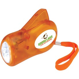 Promotional Dynamo Flash Lights