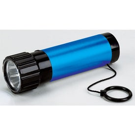 Imprinted Dynamo Flashlight with Cord