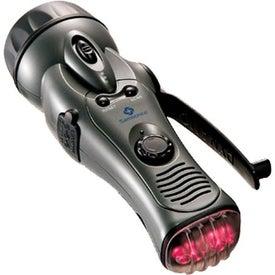 Dynamo Flashlight/Radio for Your Company