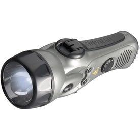 Promotional Dynamo Flashlight/Radio