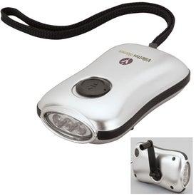 Customizable Dynamo LED Flashlight