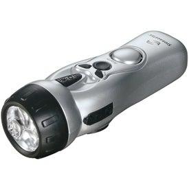 Dynamo Multi-Function Flashlight with Your Logo