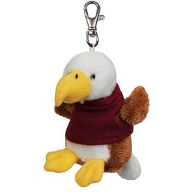 Plush Key Chain (Eagle)