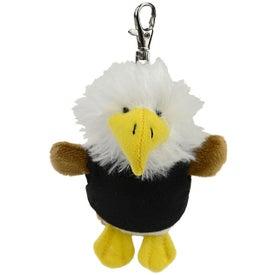 Eagle Plush Key Chain