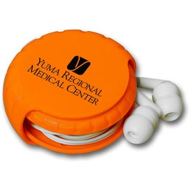 Ear Bud Winder Branded with Your Logo