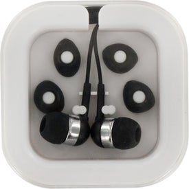 Personalized Ear Buds In Case