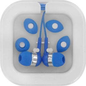 Custom Ear Buds In Case