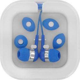 Custom Ear Buds In Case